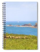 Pointe Du Grouin - Brittany Spiral Notebook