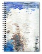 Polar Bear Reflection Spiral Notebook