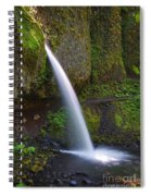 Ponytail Falls - Columbia River Gorge - Oregon Spiral Notebook