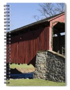 Poole Forge Covered Bridge Spiral Notebook