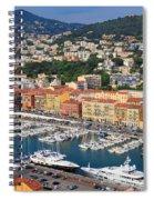 Port Du Nice Spiral Notebook