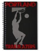 Portland Trailblazers Spiral Notebook