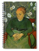Portrait Of Madame Roulin Spiral Notebook