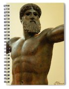 Poseidon Spiral Notebook