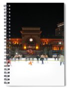 Providence On A Cold December Evening Spiral Notebook