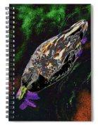Psychedelic Mallard Duck 1 Spiral Notebook