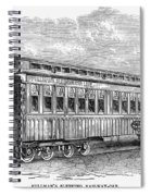 Pullman Car, 1869 Spiral Notebook