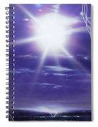 Purple Aura II Spiral Notebook