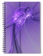 Purple Illusion Spiral Notebook