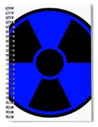 Radiation Warning Sign Spiral Notebook