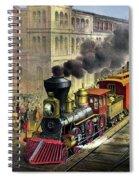 Railroad, 1874 Spiral Notebook