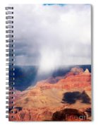 Raining In The Canyon Spiral Notebook
