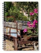 Ranch Wagon Cross Over Spiral Notebook