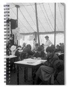 Red Cross, 1916 Spiral Notebook