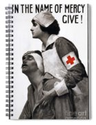 Red Cross Poster, 1917 Spiral Notebook