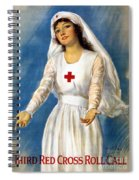 Red Cross Poster, 1918 Spiral Notebook