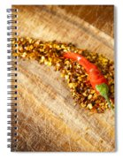 Red Hot Chilli Concept Spiral Notebook