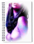 Red Lips Spiral Notebook