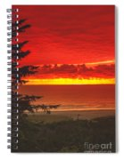 Red Pacific Spiral Notebook