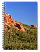 Red Rock Formation Sedona Arizona 27 Spiral Notebook