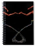 Red Shift A Science Sculpture By Adam Long Spiral Notebook