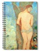 Redon's Saint Sebastian Spiral Notebook
