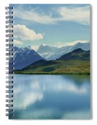 Reflection Of Clouds And Mountain Spiral Notebook