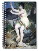Renoir's Diana Spiral Notebook