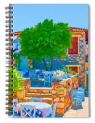 Colourful Restaurant Spiral Notebook