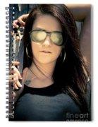 Retro Motor Mechanic Spiral Notebook