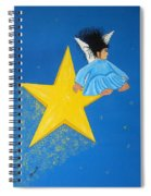 Ride A Shooting Star Spiral Notebook