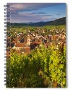 Riquewihr Alsace Spiral Notebook