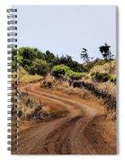 Road On Hierro Spiral Notebook