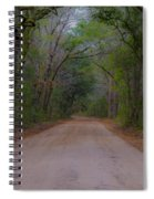 Headed To The Angel Oak Spiral Notebook