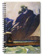 Robinson Crusoe, 1920 Spiral Notebook