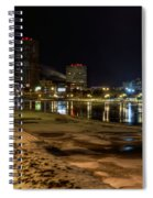 Rochester At Night Spiral Notebook