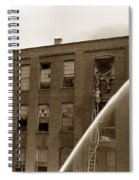 Rochester Show Case Co. Fire New York State Circa 1904 Spiral Notebook