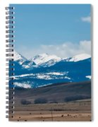 Rocky Mountains Road Spiral Notebook