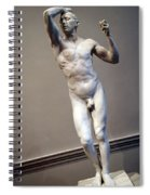Rodin's The Vanguished -- 1 Spiral Notebook