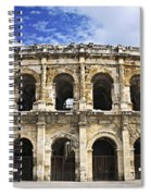 Roman Arena In Nimes France Spiral Notebook