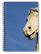 Roman Statue Spiral Notebook