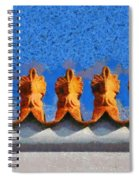Roof Decoration Spiral Notebook