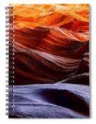 Rough Sea Spiral Notebook