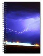 Round 2 More Late Night Servere Nebraska Storms Spiral Notebook