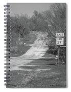 Route 66 - Alanreed Texas Spiral Notebook