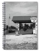 Route 66 Gas Station Spiral Notebook
