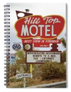 Route 66 - Hill Top Motel Spiral Notebook