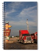 Route 66 - Rest Haven Motel Spiral Notebook