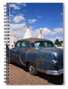 Route 66 Wigwam Motel And Classic Car Spiral Notebook