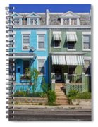 Row Houses In Washington D.c. Spiral Notebook
